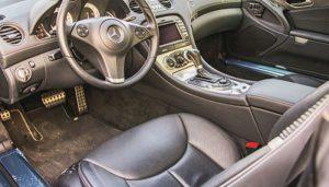 ساخت سوئیچ خودرو مرسدس بنز SL500 در محل